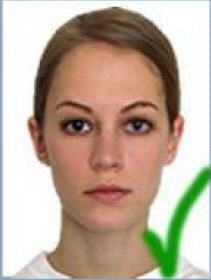brazilian visa photograph