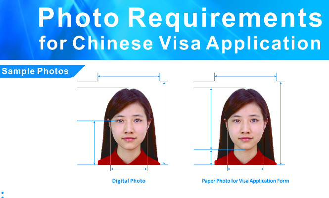 China Visa photo
