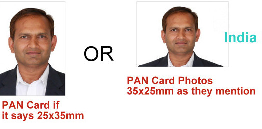 PAN card photo