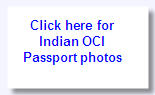 OCI Passport Photos