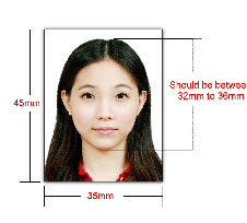 passport picture sample