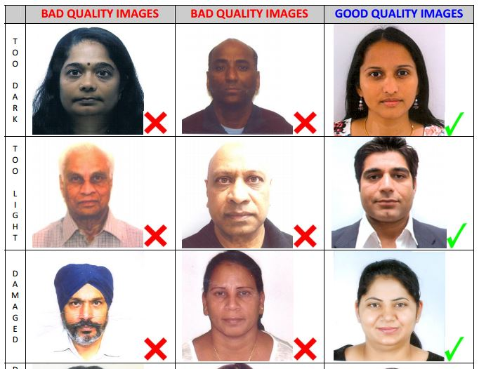 Indian Passport Photos
